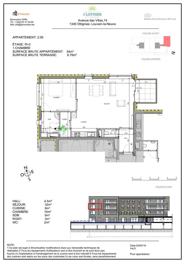 Appartement - Ottignies-Louvain-la-Neuve - #4406866-2