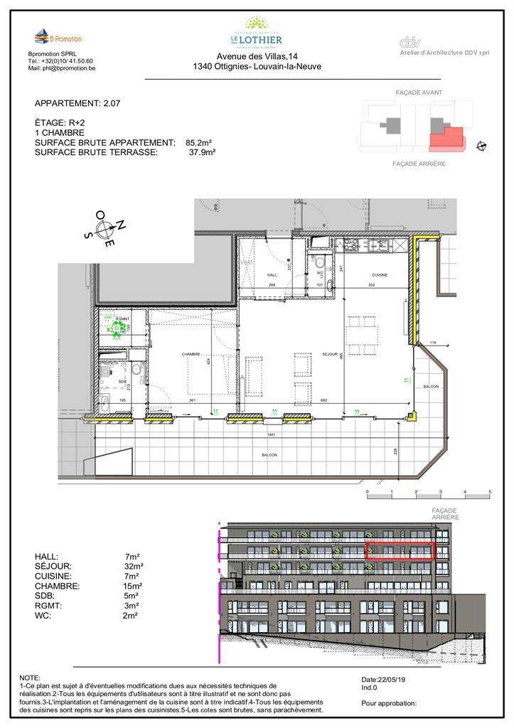 Appartement - Ottignies-Louvain-la-Neuve - #4406875-2