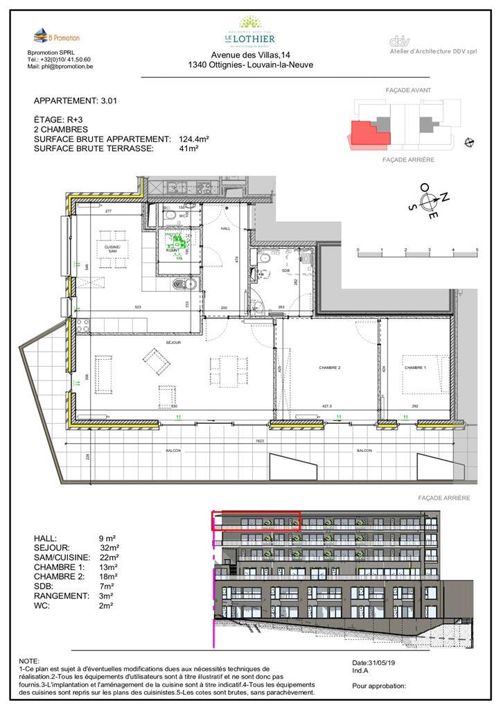 Appartement - Ottignies-Louvain-la-Neuve - #4406877-3