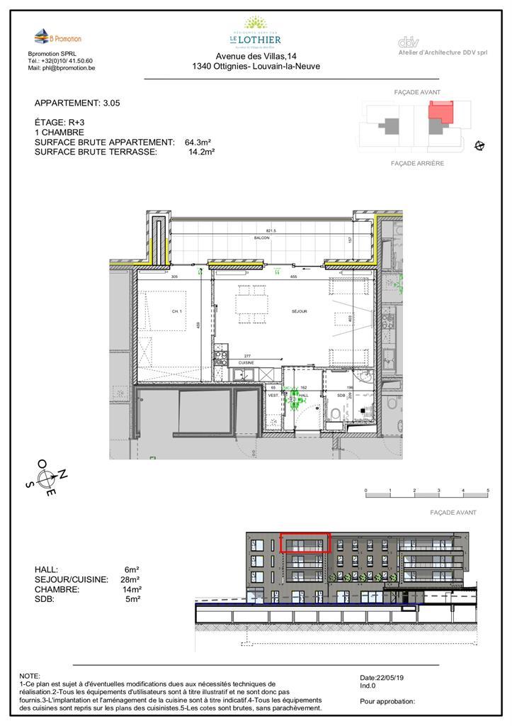 Appartement - Ottignies-Louvain-la-Neuve - #4406879-2