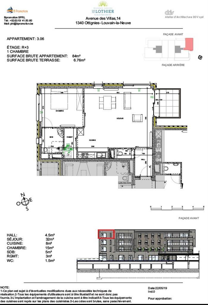 Appartement - Ottignies-Louvain-la-Neuve - #4406884-2