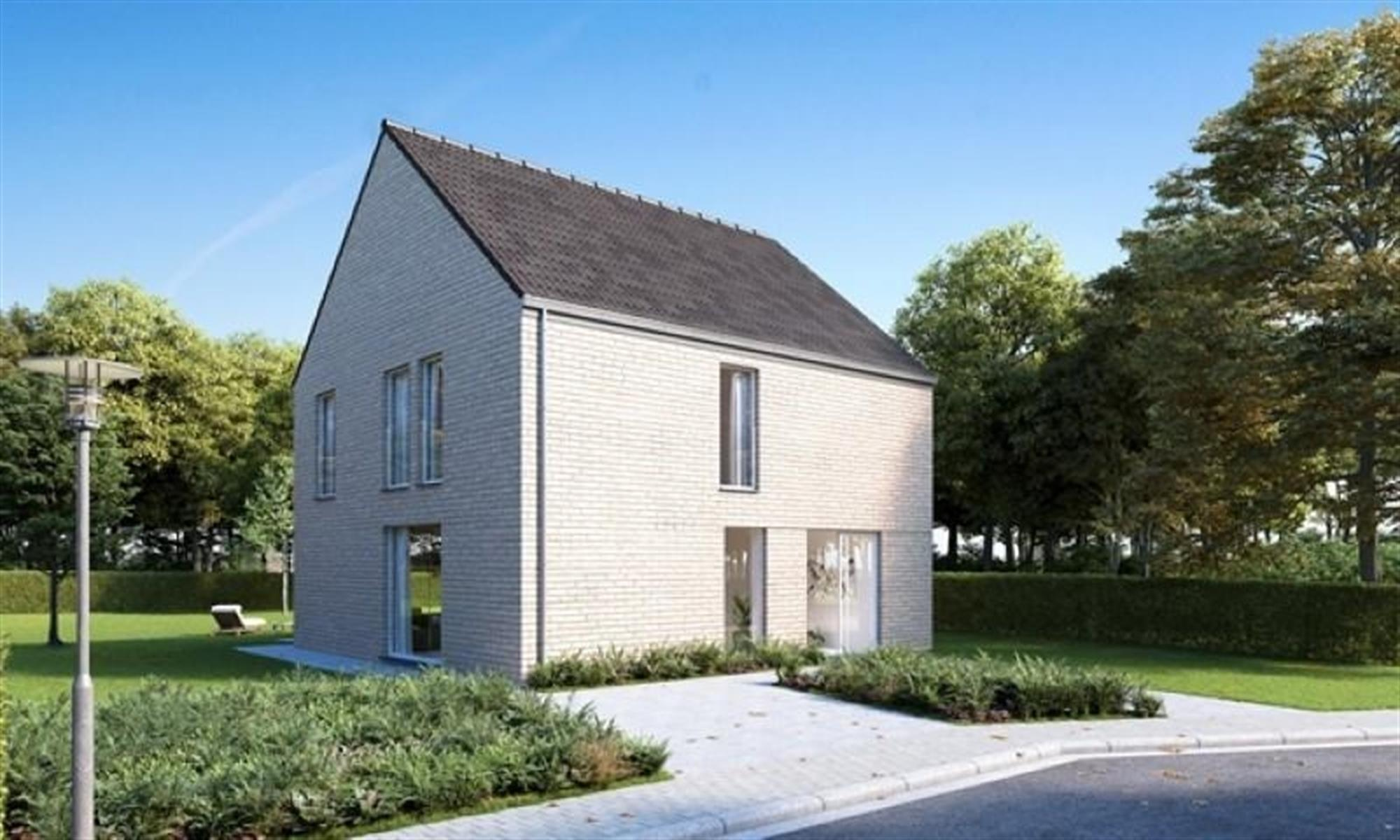 Moderne, open ééngezinswoning op te richten te Heist-Op-Den-Berg