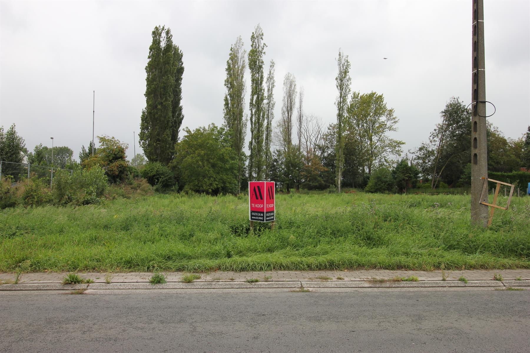 IN OPTIE!!! Bouwgrond voor open bebouwing gelegen nabij de Schelde