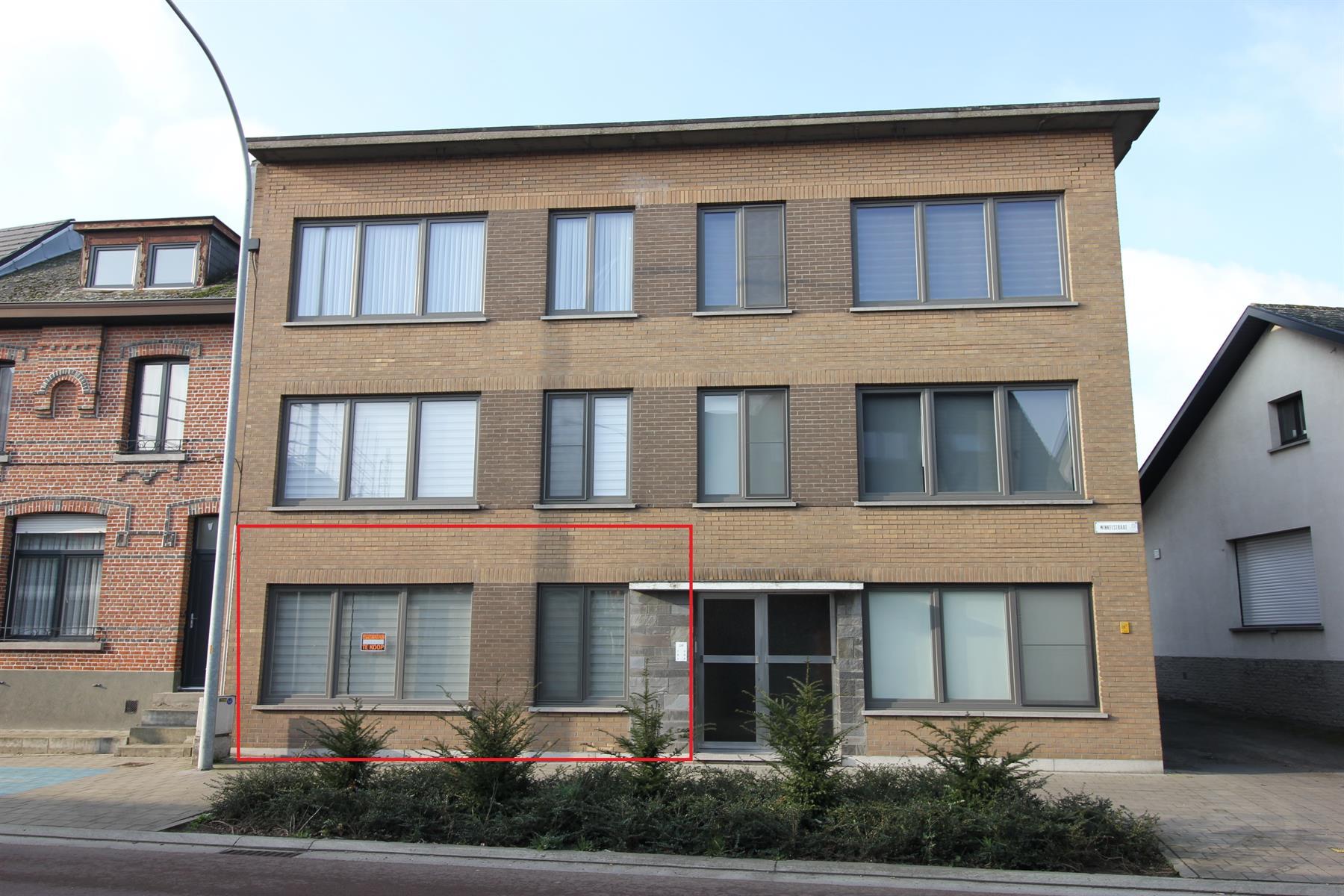 Vernieuwd gelijkvloers 2-slaapkamer appartement