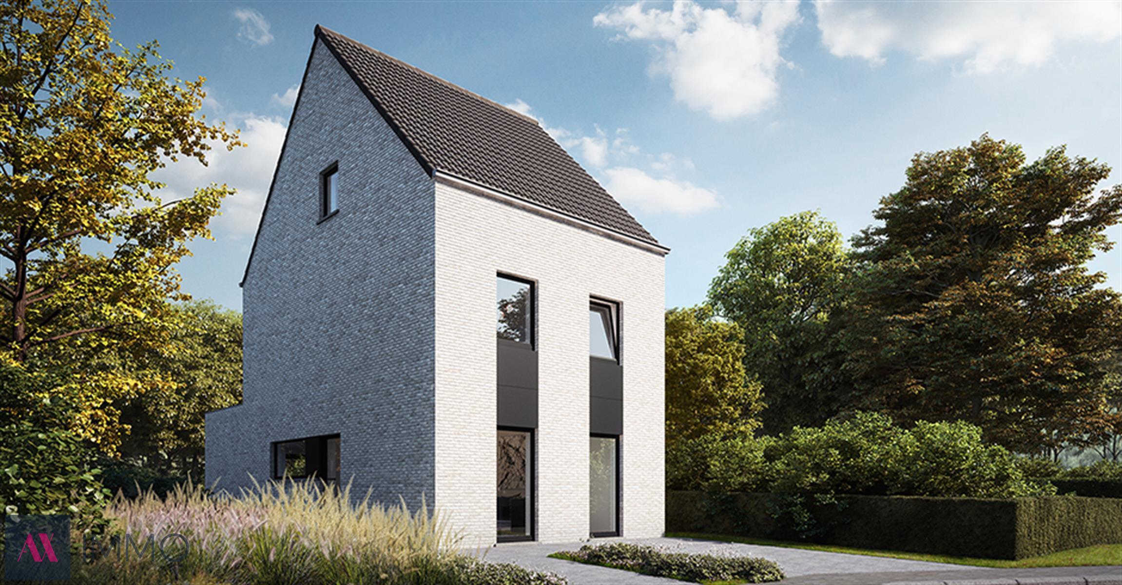 Residentiële verkaveling met 6 nieuw te bouwen half-open woning op percelen vanaf 04 are 26 ca