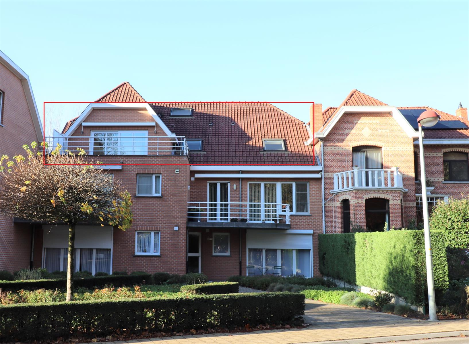 Prachtige Penthouse met 2 slaapkamers en groot terras