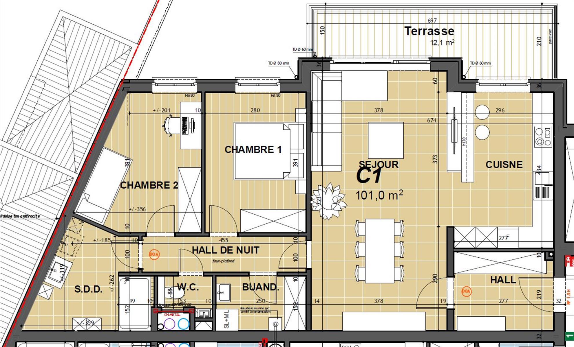 Appartement - Hannut - #3868327-1