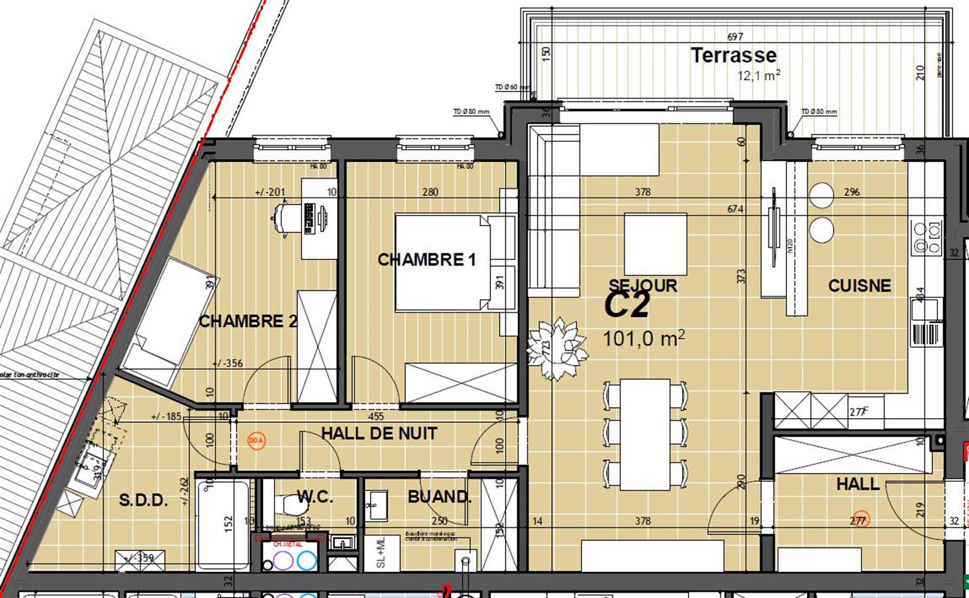 Appartement - Hannut - #3868350-1