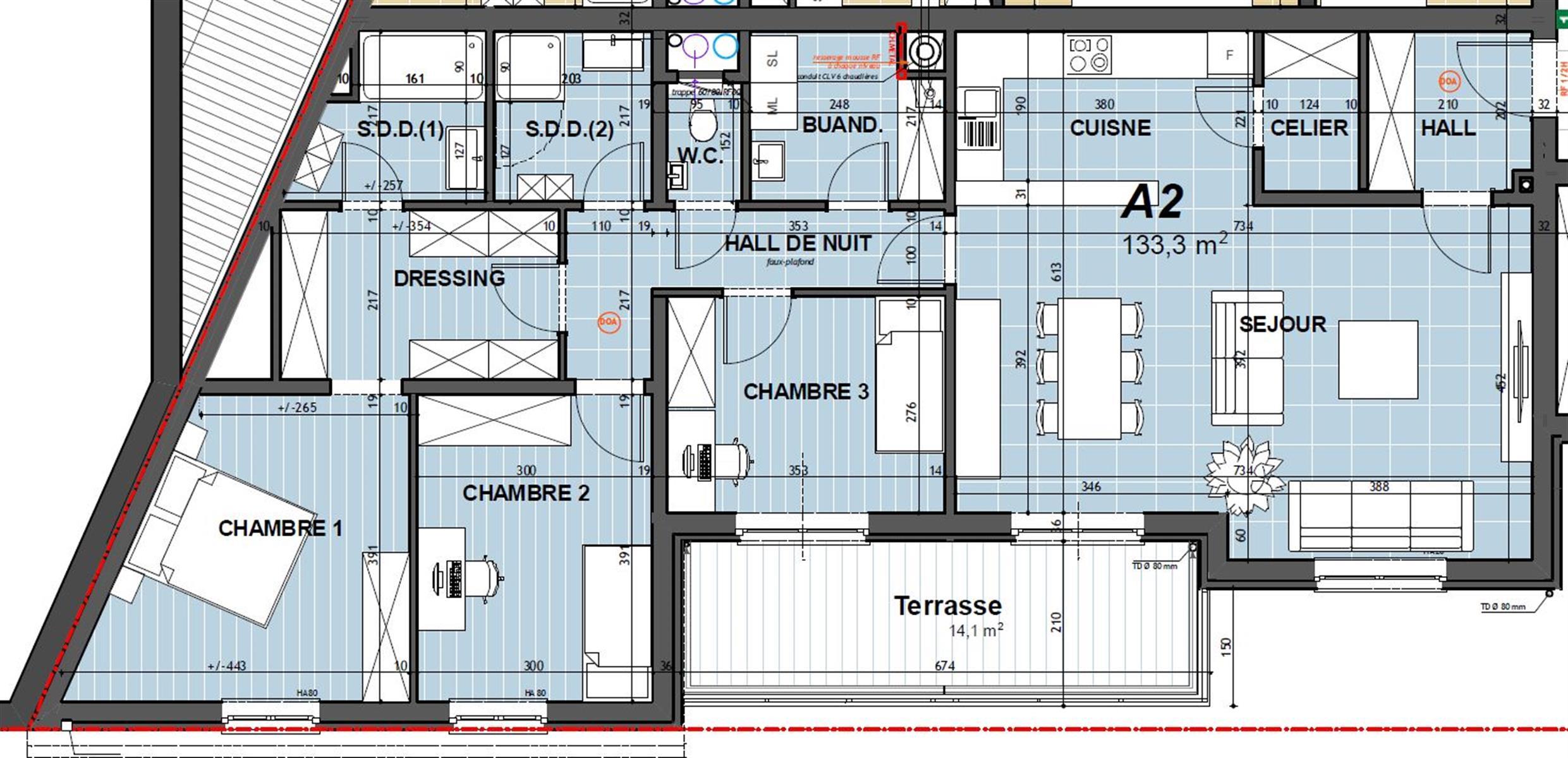 Appartement - Hannut - #3956097-1