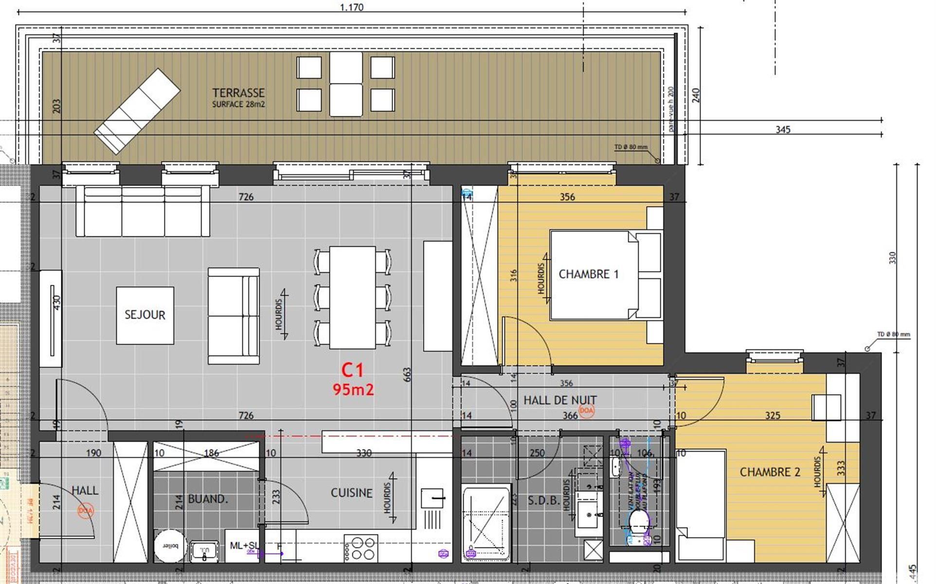 Appartement - Braives - #4014117-1