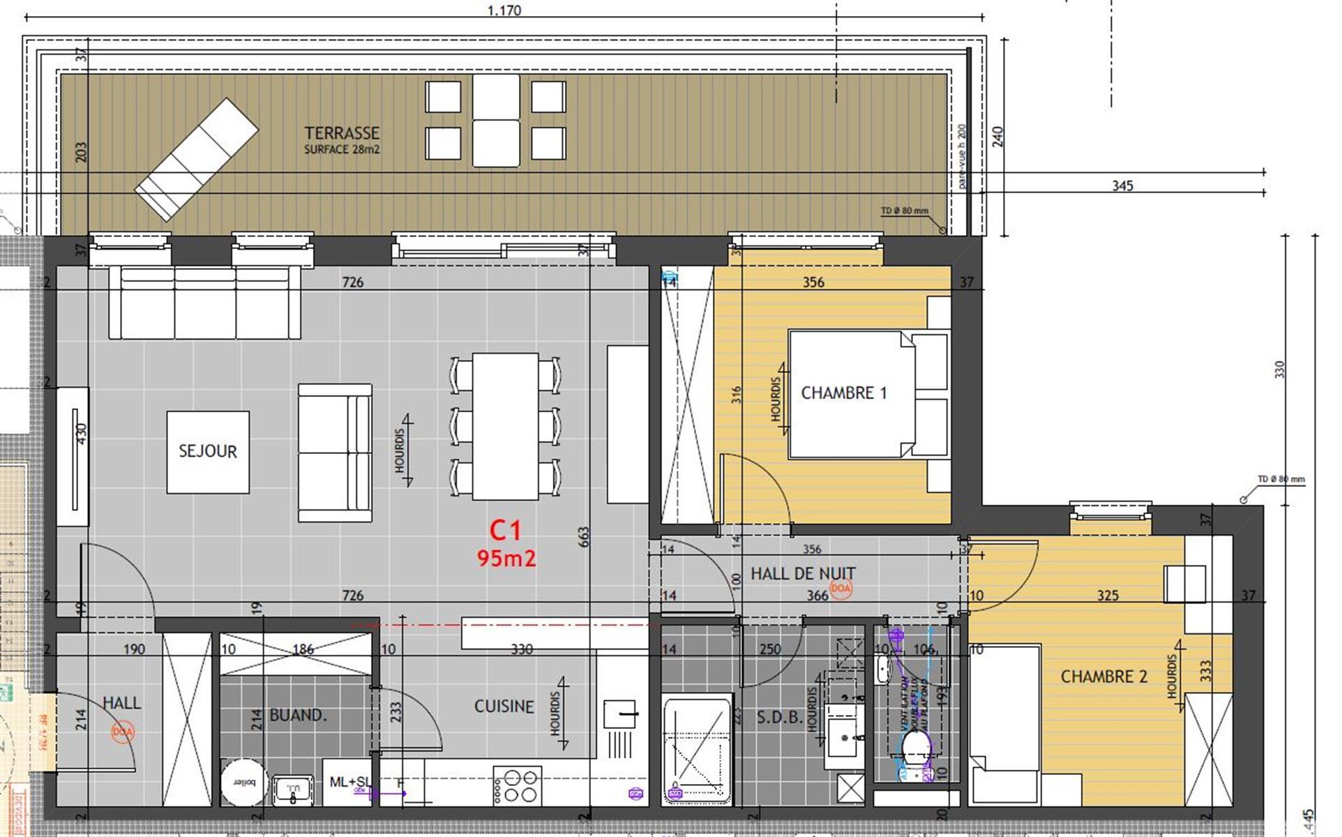 Appartement - Hannut - #4014591-1