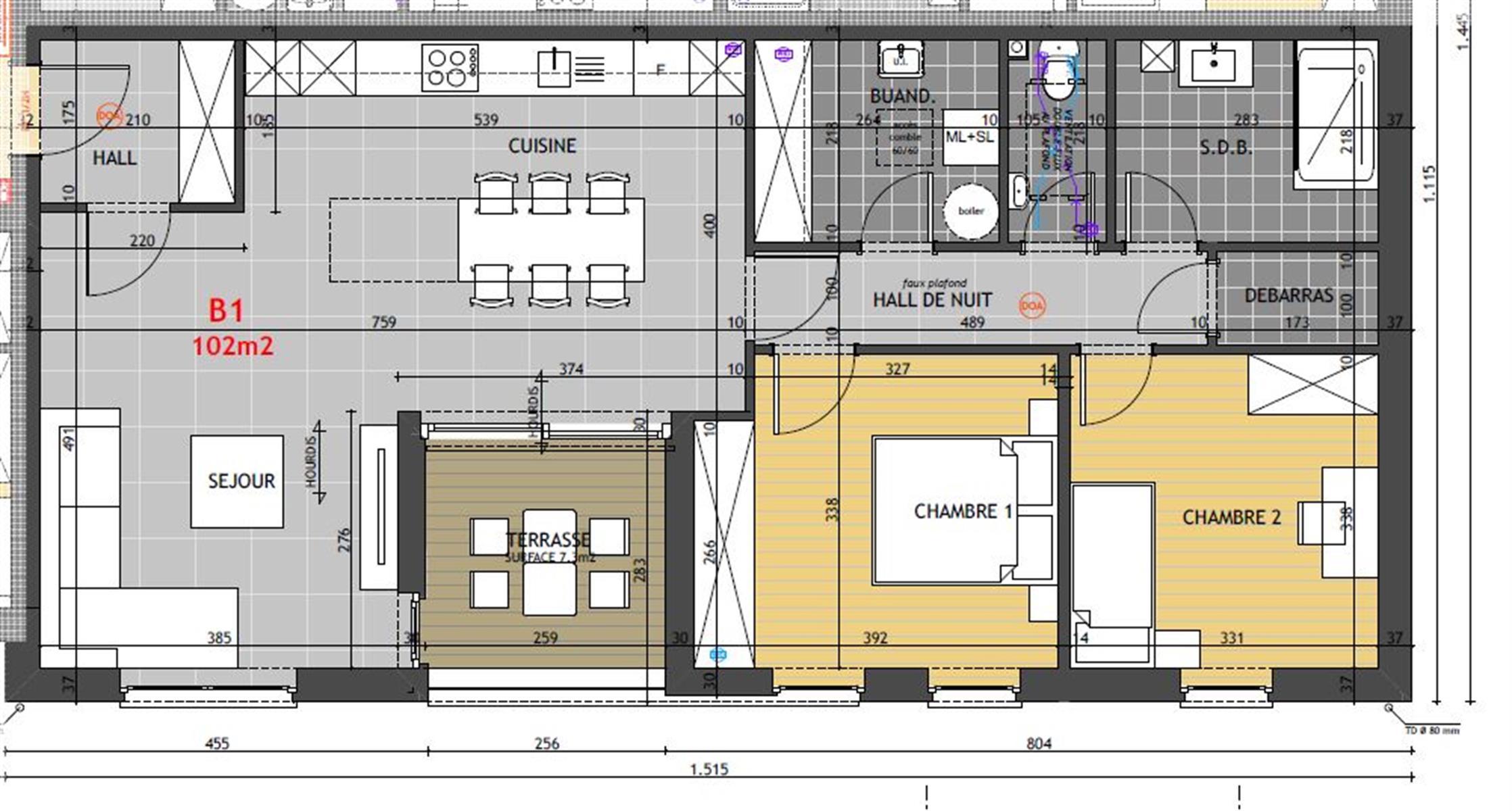 Appartement - Hannut - #4014592-1