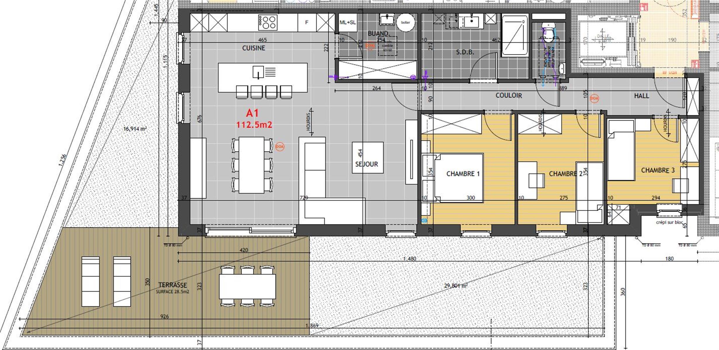 Appartement - Hannut - #4014593-1