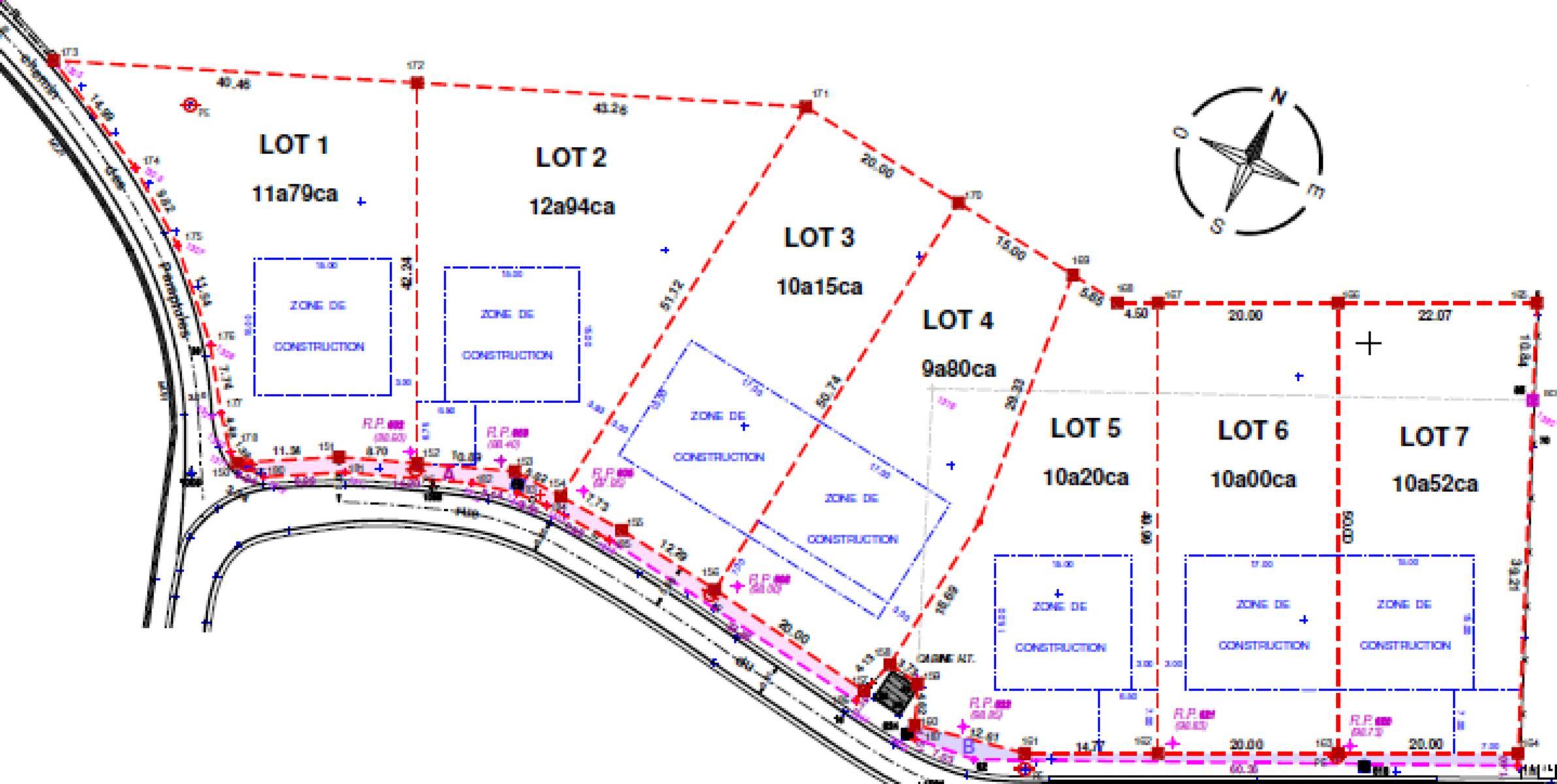 Terrain à bâtir - Villersle-Bouillet Vauxet-Borset - #4518271-4