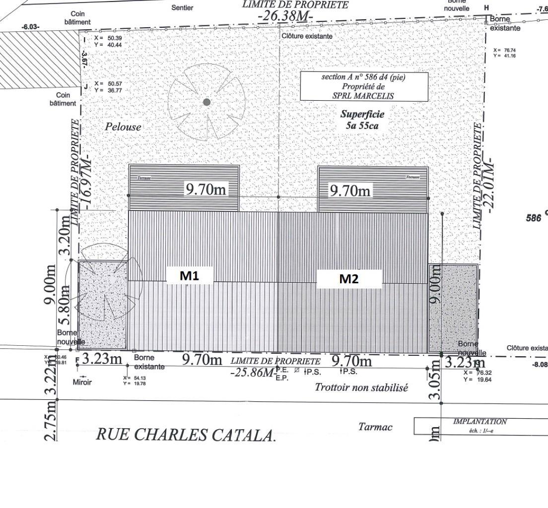 Lot de 2 maisons 3 façades - Ittre - #3191927-8