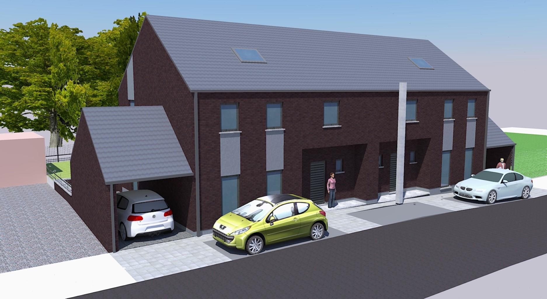 Lot de 2 maisons 3 façades - Ittre - #3191927-3