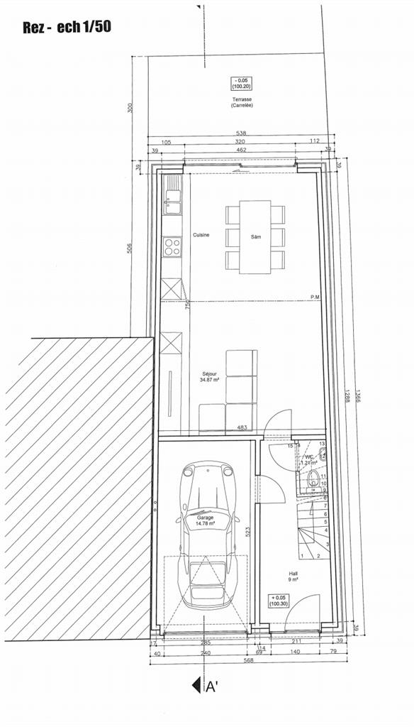 Maison - Rebecq Quenast - #3975714-1