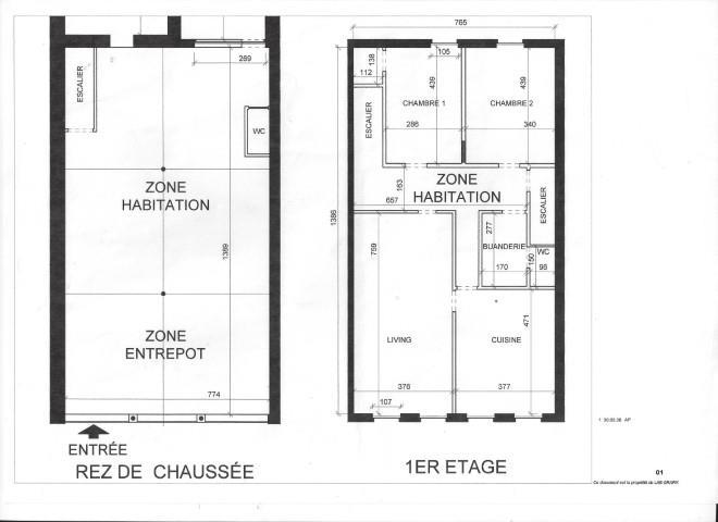 Immeuble mixte - Seraing Ougrée - #3216515-20
