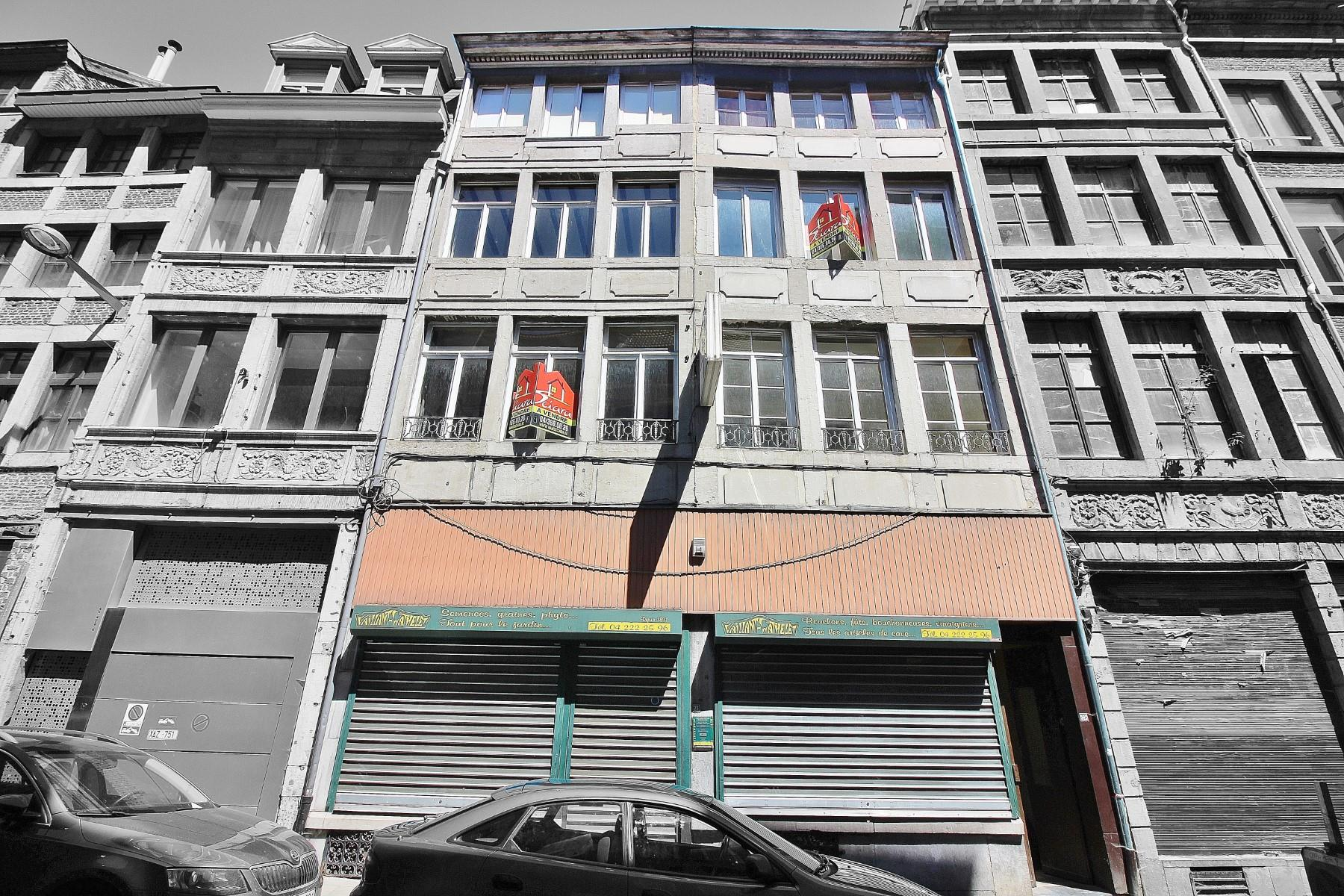 Immeuble mixte - Liège - #3497480-0