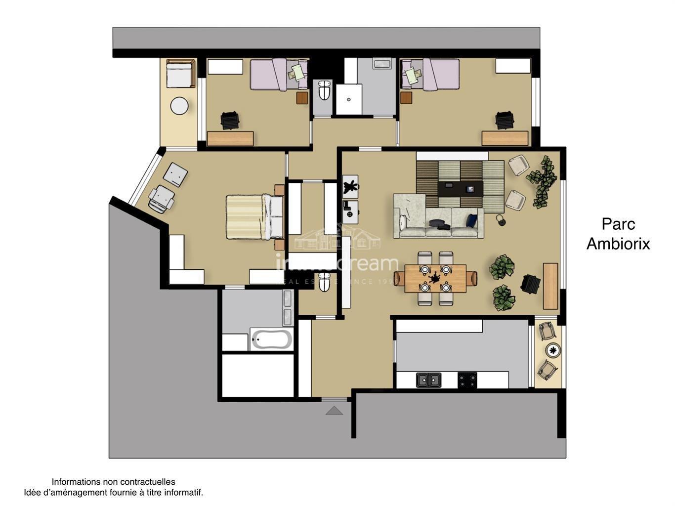 Appartement - Brussel - #4454855-1