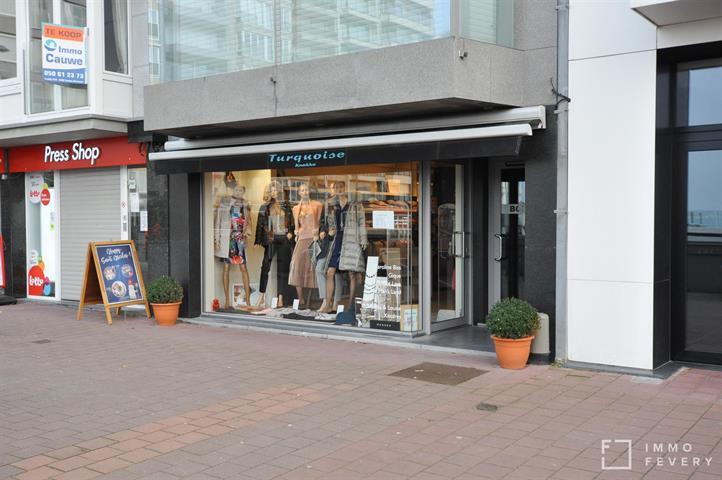 Bien commercial situé sur la Place Rubens animée à Knokke!