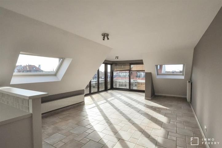 Appartement avec vue dégagée au centre de Knokke.