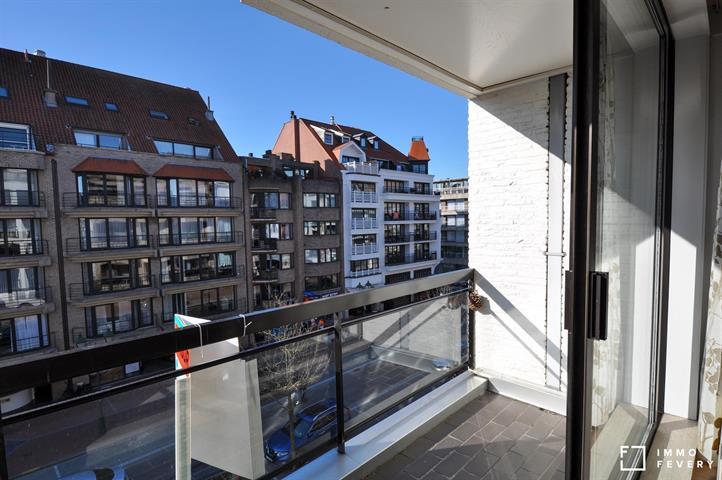Appartement met zonnig terras, centrale ligging in Knokke!