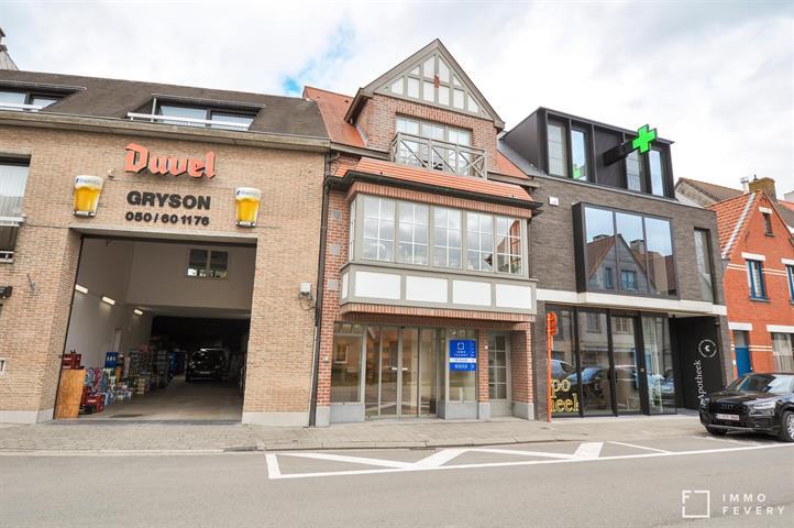 Handelspand te huur, nabij het Groentenmarkt, Knokke Centrum!