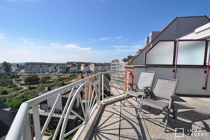Magnifiek duplex appartement te Duinbergen, met open zicht over het hinterland.