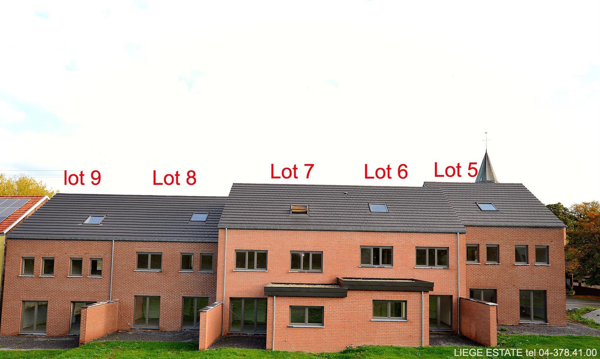 Berloz 9 nouvelles constructions - Berloz Rosoux-Crenwick - #3876224-25