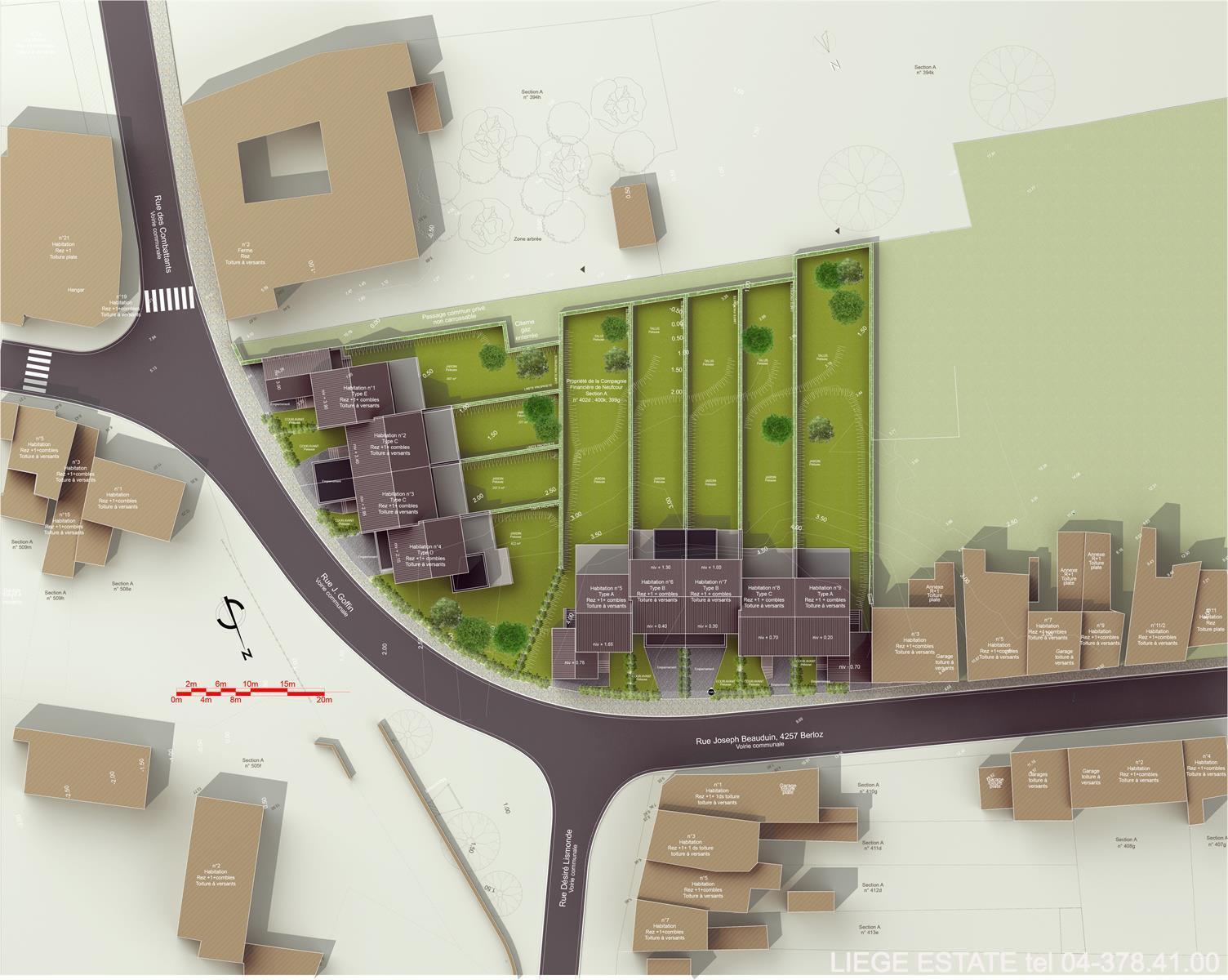 Berloz 9 nouvelles constructions - Berloz Rosoux-Crenwick - #3876224-36