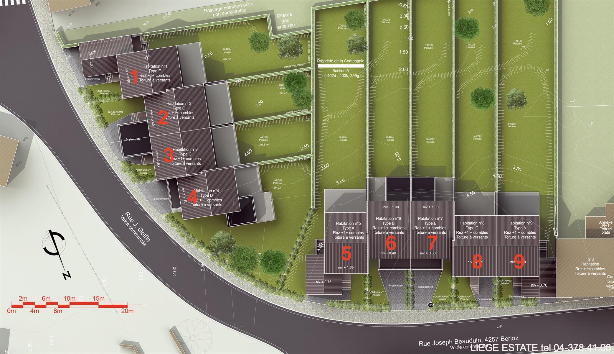 Berloz 9 nouvelles constructions - Berloz Rosoux-Crenwick - #3876224-31