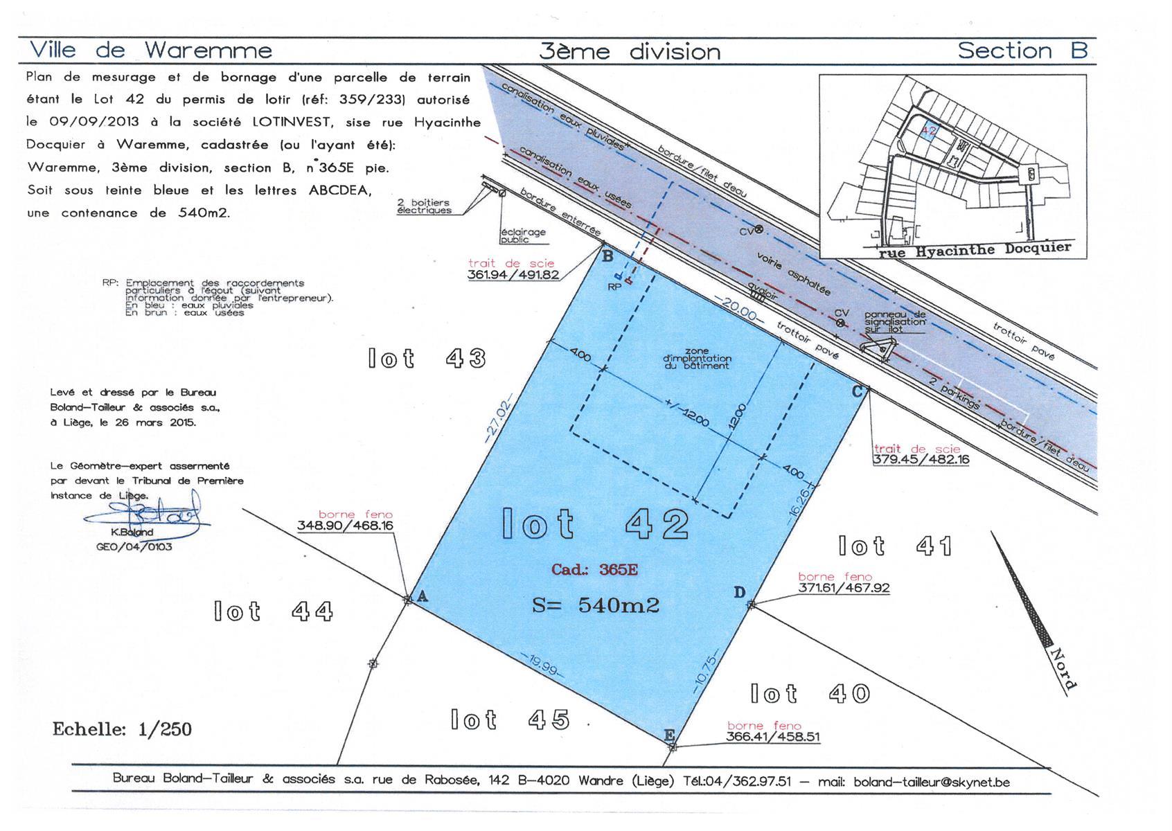 Building ground - Waremme - #4115304-3