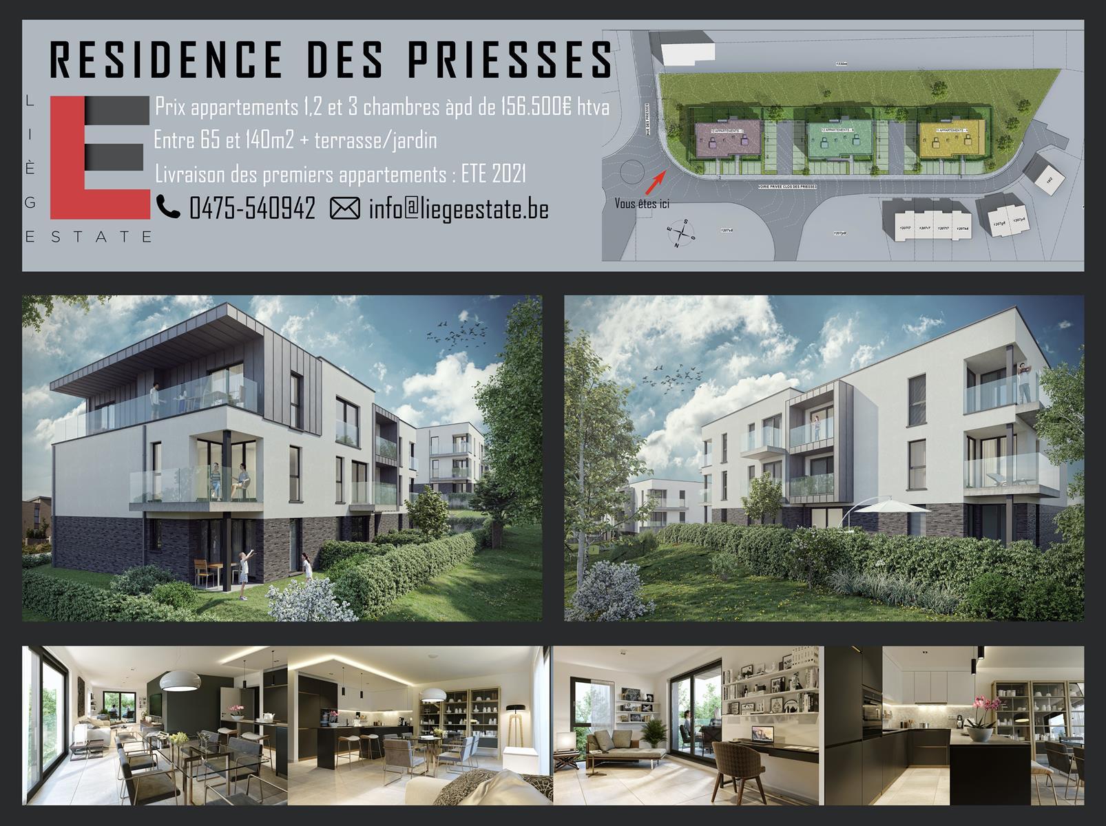 Résidence des Priesses Bâtiment C - Flemalle - #4196723-2