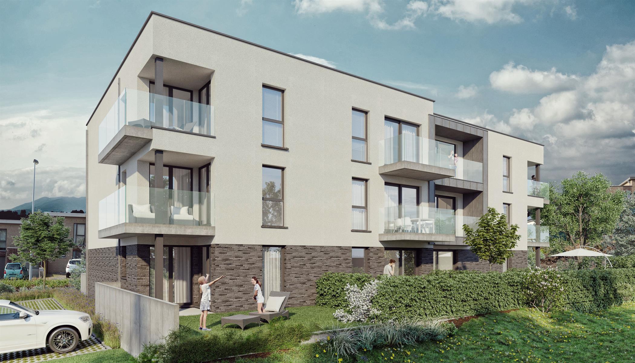 Ground floor with garden - Flemalle - #4197040-42