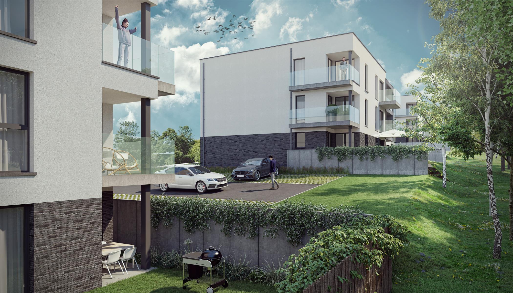 Ground floor with garden - Flemalle - #4197040-40