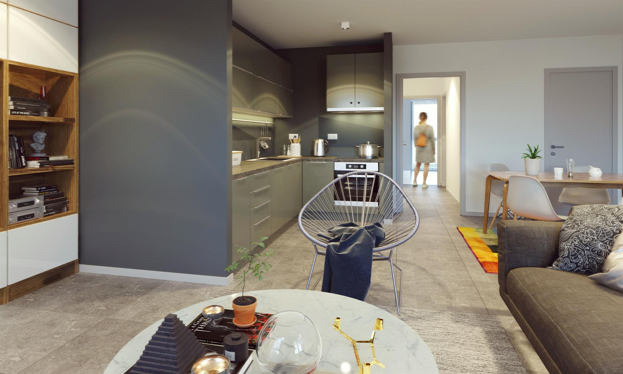 Ground floor with garden - Flemalle - #4197040-29