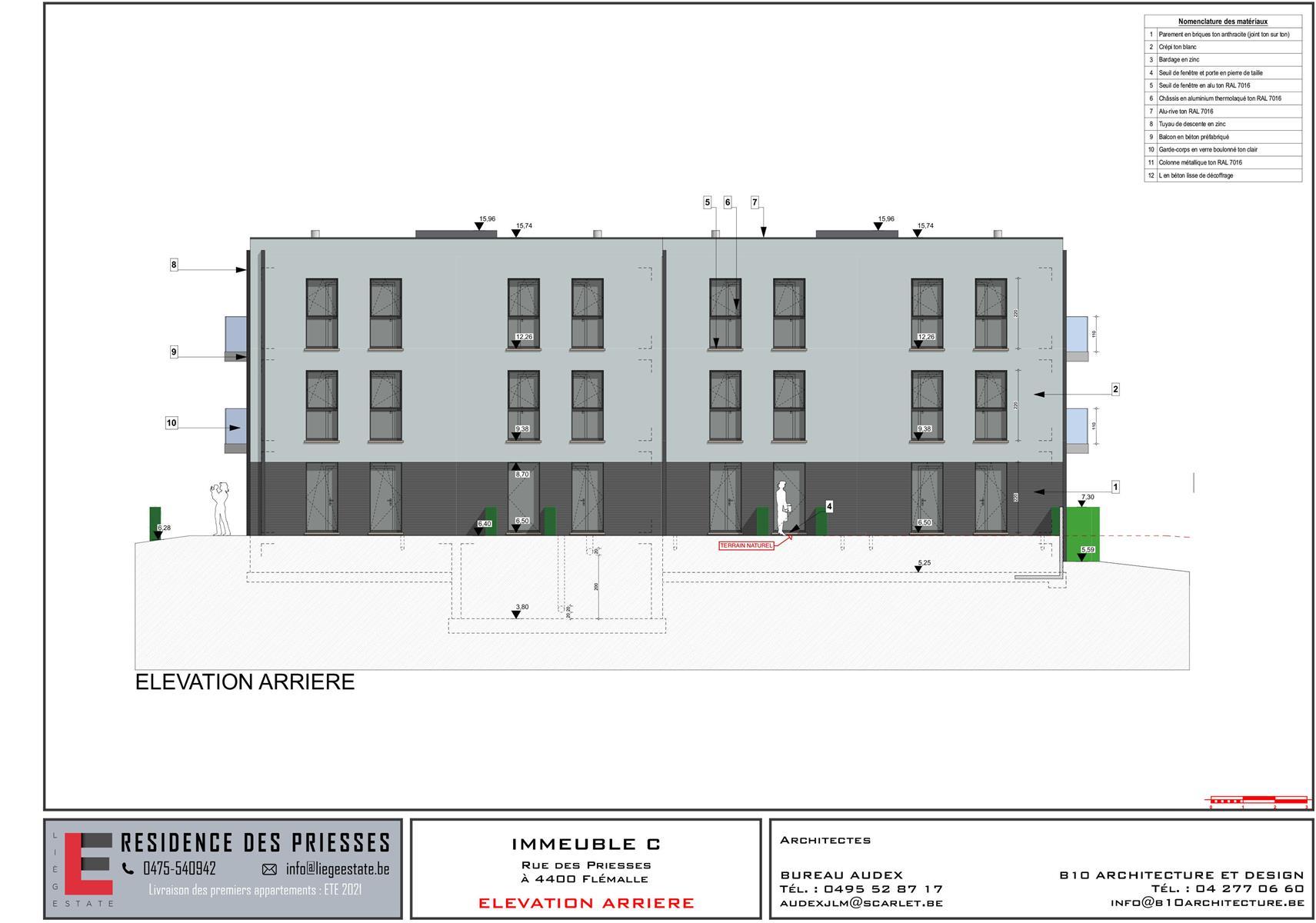 Ground floor with garden - Flemalle - #4197040-49