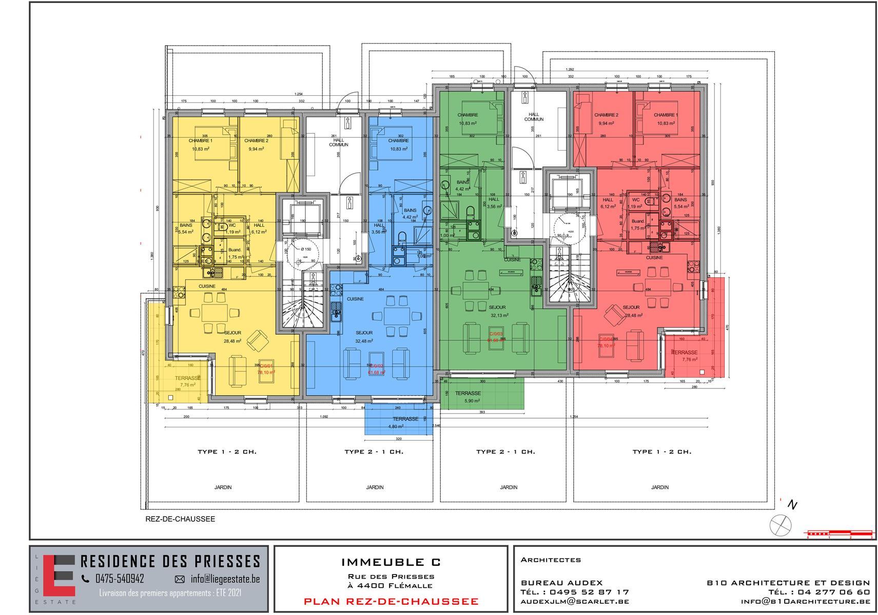Ground floor with garden - Flemalle - #4197040-47