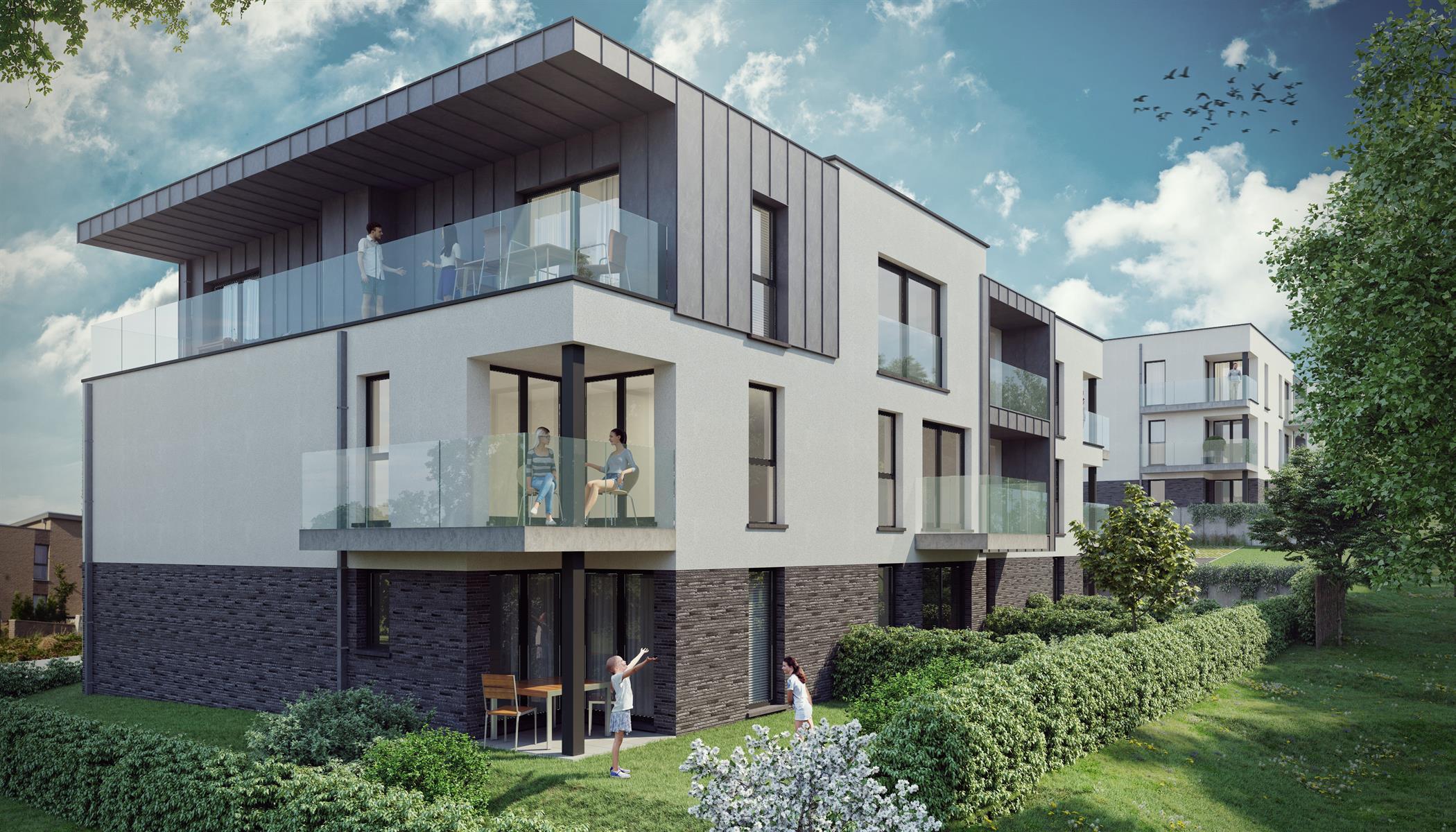 Ground floor with garden - Flemalle - #4197040-39