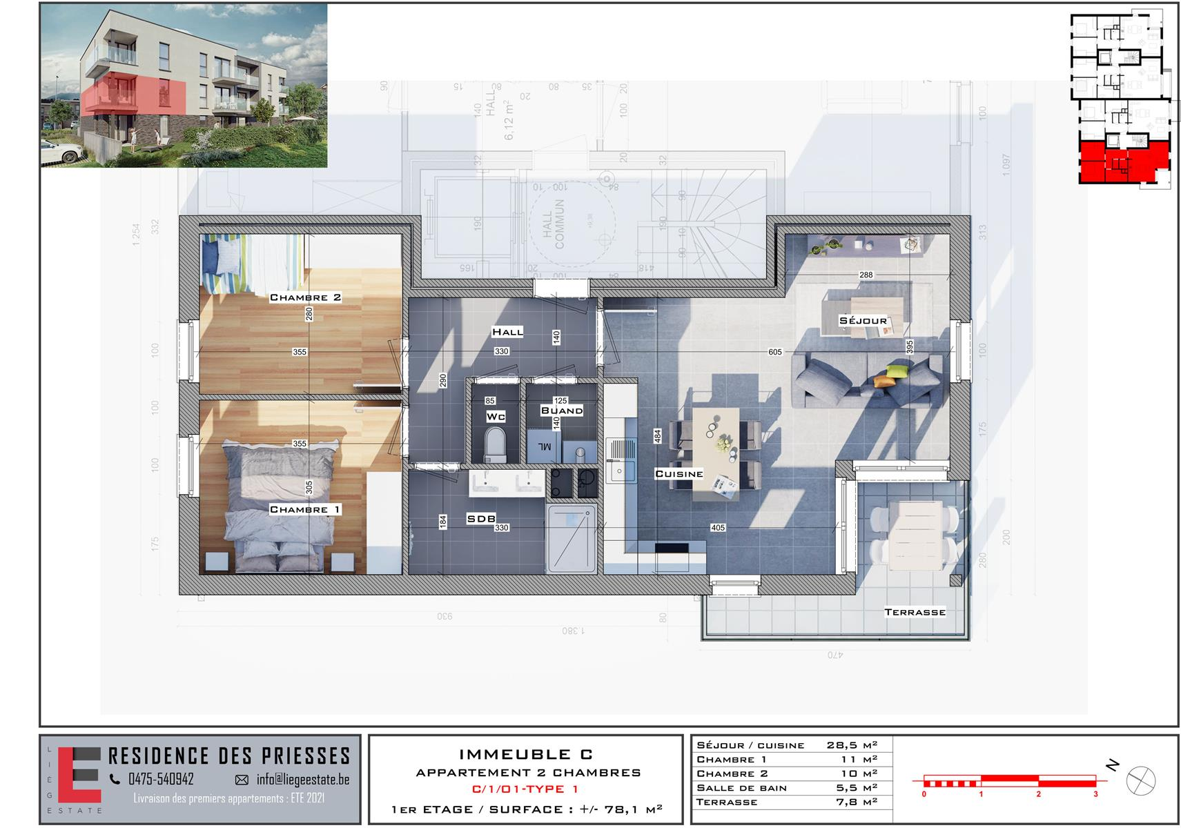 Appartement - Flemalle - #4197855-33