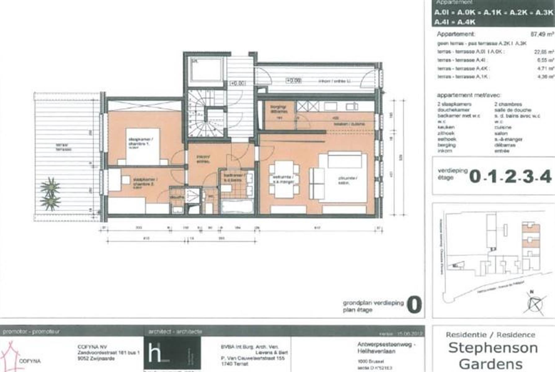 Appartement - Bruxelles - #3999353-1