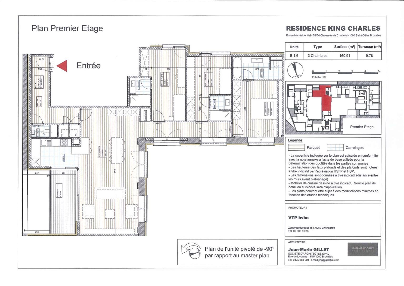 Appartement - Saint-Gilles - #3999453-0