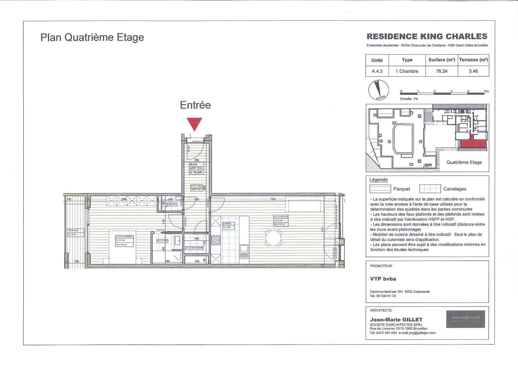 Appartement - Saint-Gilles - #3999466-0