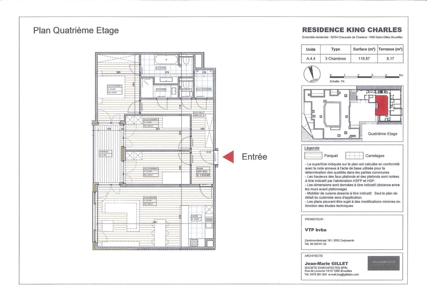 Appartement - Saint-Gilles - #3999467-0