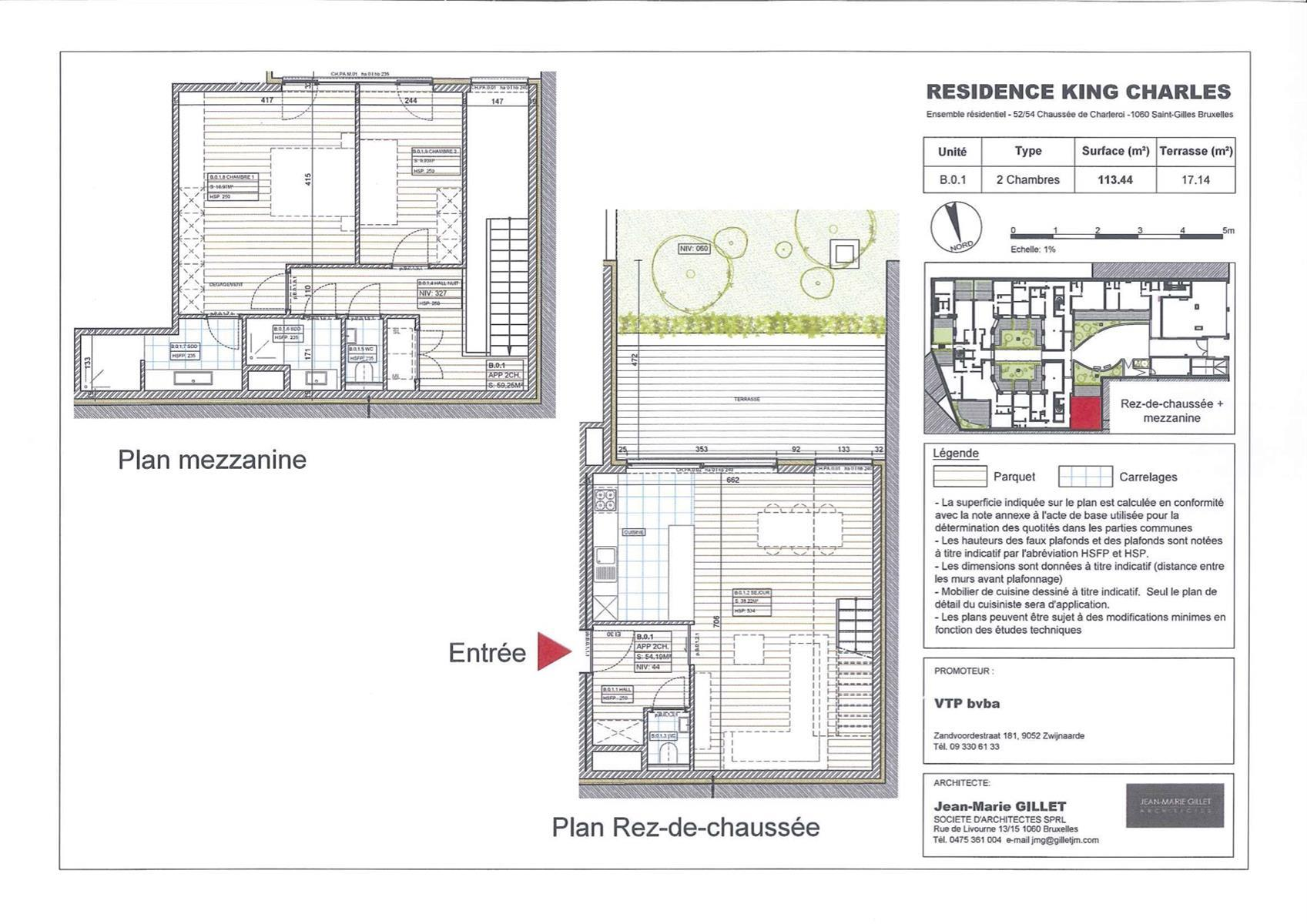 Ground floor - Saint-Gilles - #3999471-0