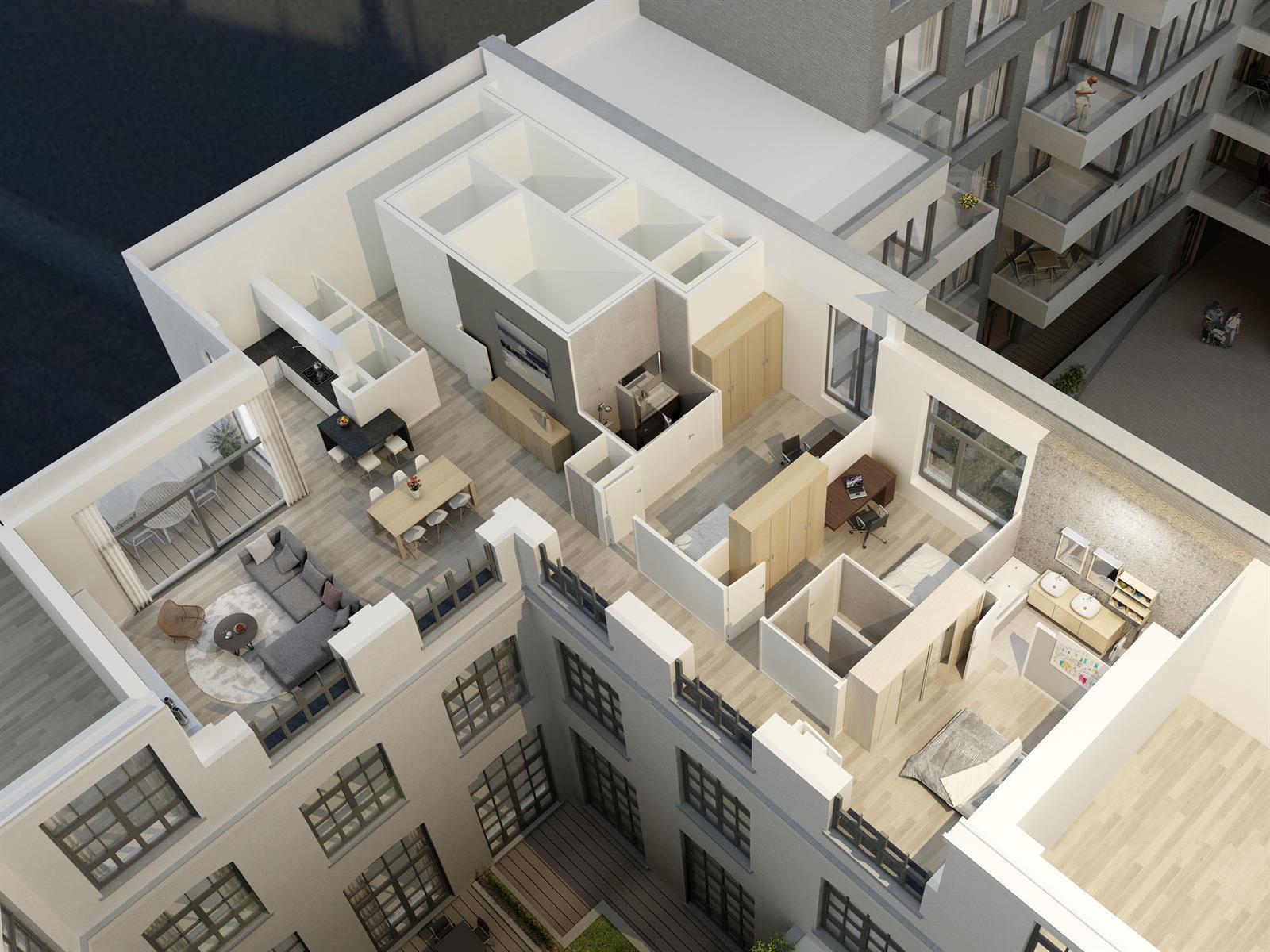 Ground floor - Saint-Gilles - #3999476-5