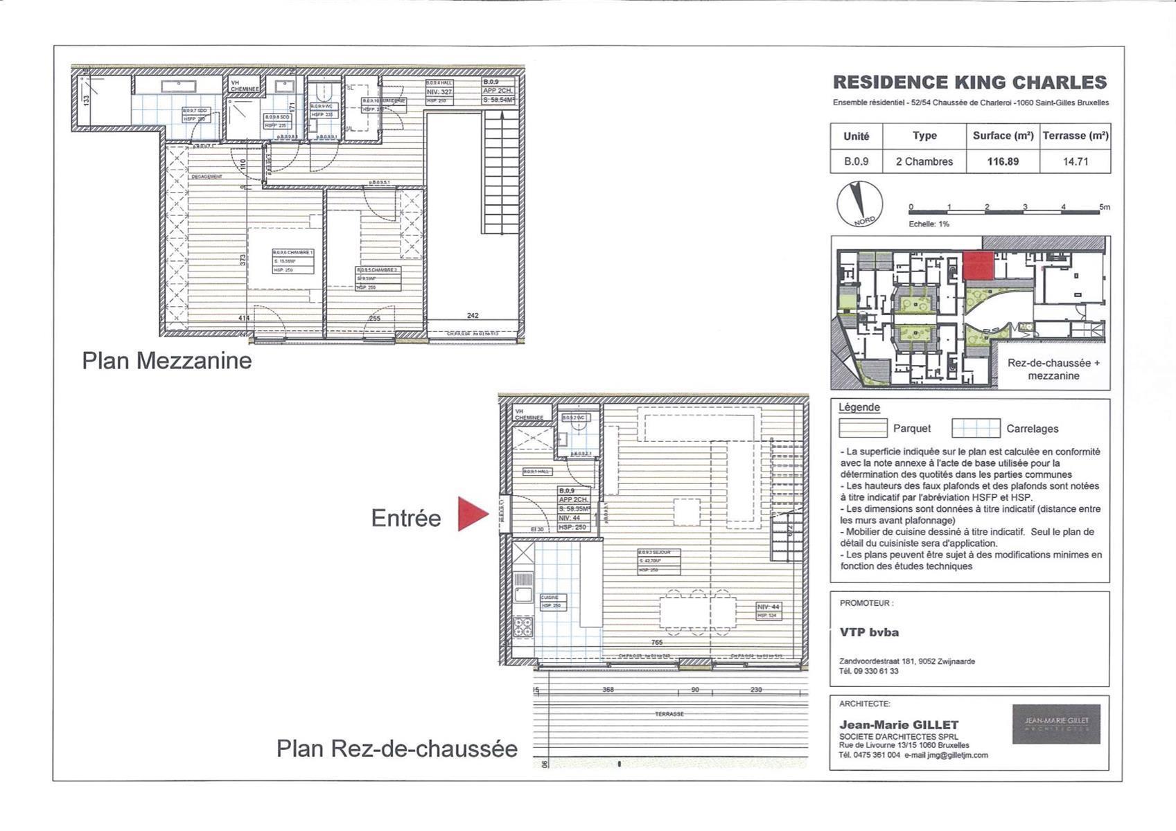 Ground floor - Saint-Gilles - #3999476-0