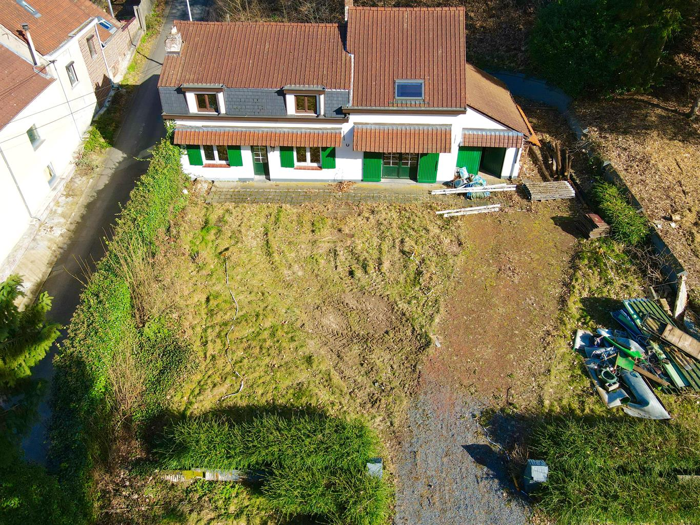 Building ground - Rhode-Saint-Genese - #4290694-1