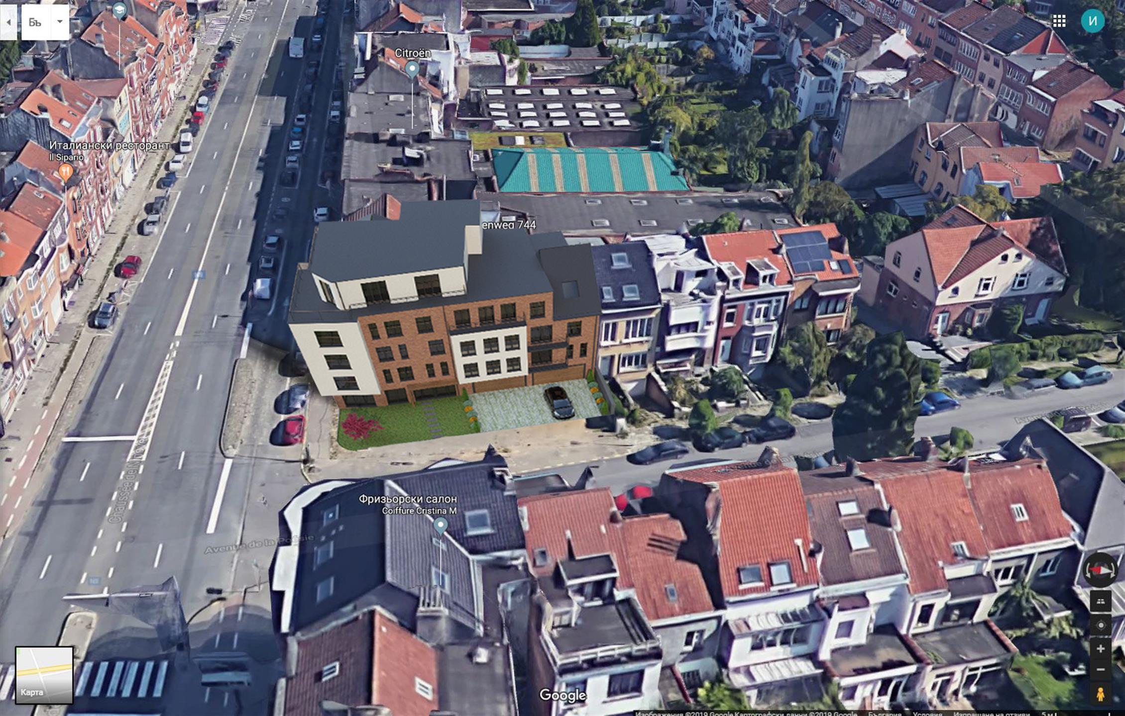 Parking intérieur - Anderlecht - #4314199-1